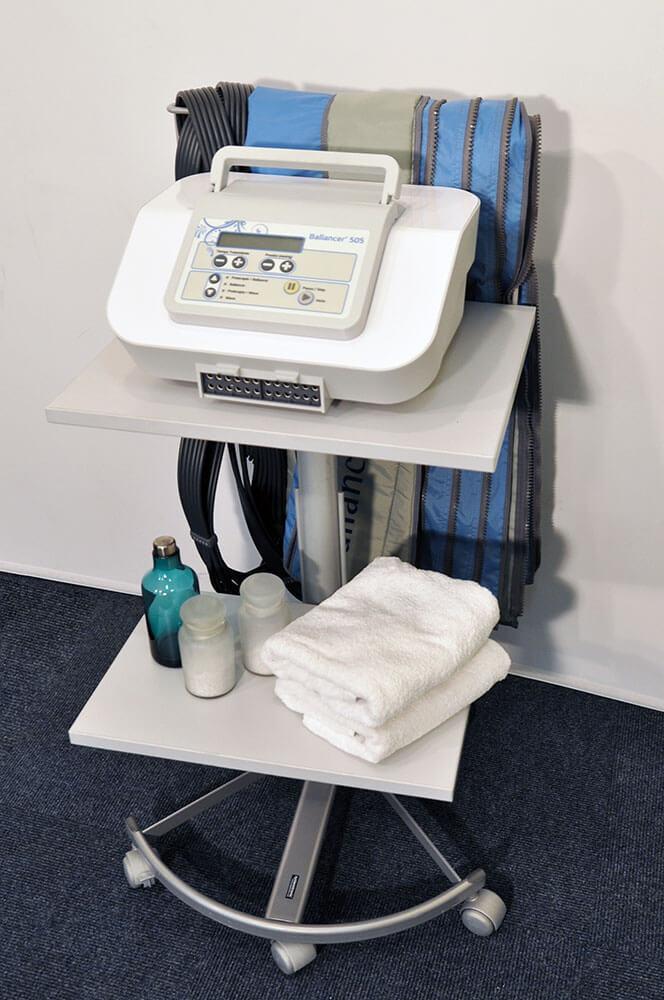 Mesa de lympha press