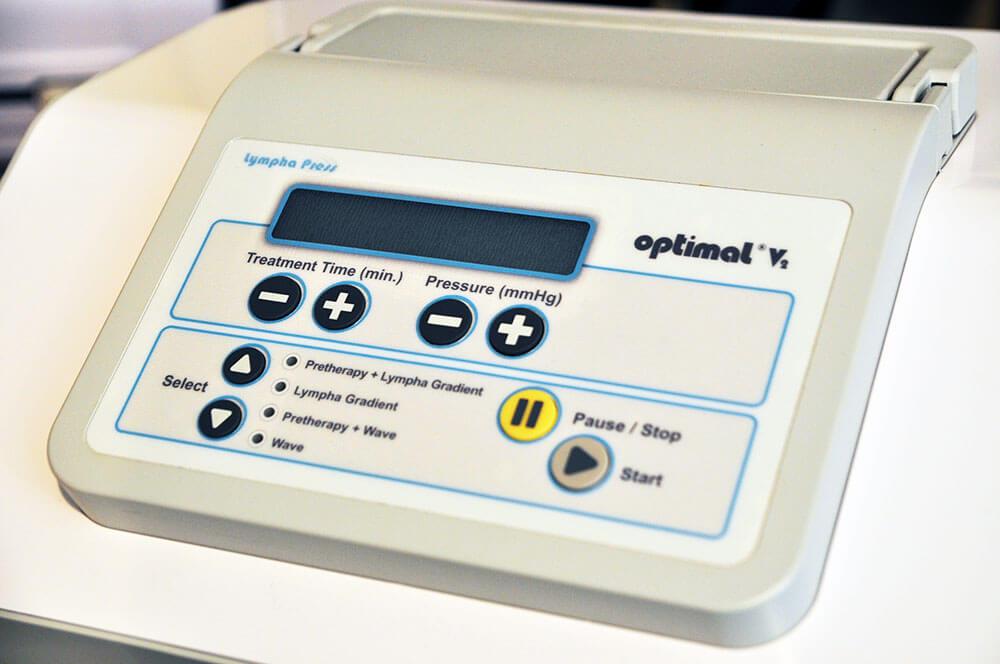 División Médica - máquina de lympha press optimal gradient de cincos