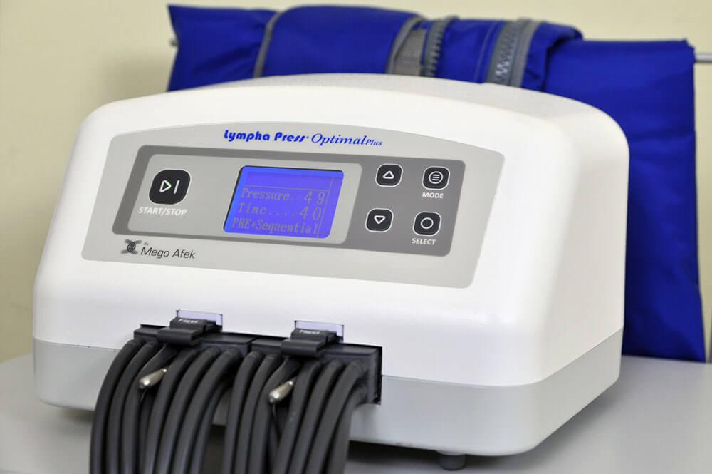 División Estética- lympha press optimal plus máquina