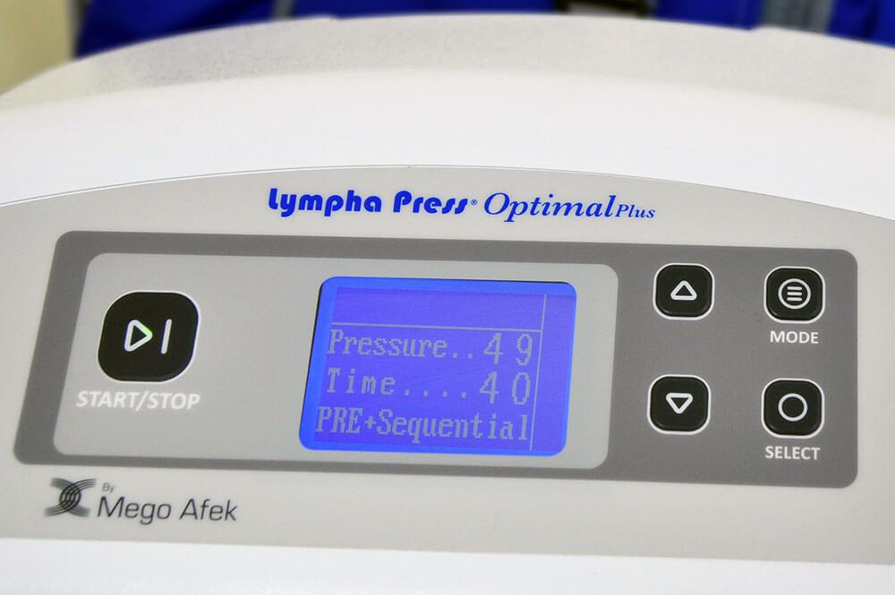 División Estética - lympha press optimal plus de cincos