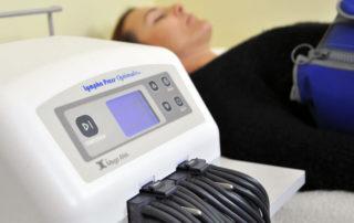 División Estética - máquina lympha press optimal plus